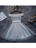 A-line Short Prom Drsess Juniors Homecoming Dresses SKY527