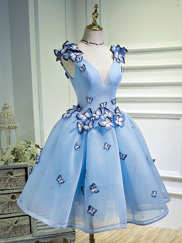 2017 A-line Short Prom Drsess Juniors Homecoming Dresses SKY532