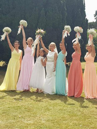 2017 A-line Prom Drsess/Evening Dress Bridesmaid Dress SKY623