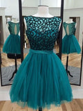 2017 Short Prom Drsess Charming Homecoming Dresses Party Dress SKY670