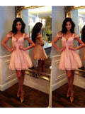 2017 Short Prom Drsess Charming Homecoming Dresses Party Dress SKY672