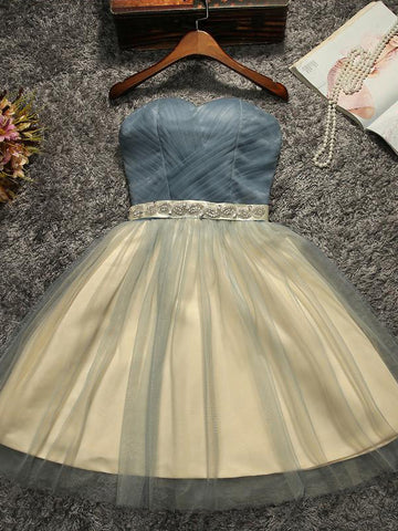2017 Short Prom Drsess Charming Homecoming Dresses Party Dress SKY684