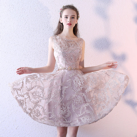 2017 Charming Homecoming Dresses A-line Short Prom Dress SKY700