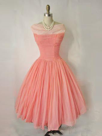 A-line Bateau Chiffon Homecoming Dress Short Prom Drsess SKY727