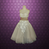 A-line Sweetheart Tulle Homecoming Dress Short Prom Drsess SKY737