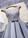 A-line Off-the-shoulder Short Prom Drsess Charming Homecoming Dresses SKY743