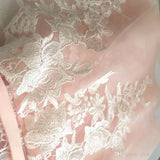 Charming A-line Scoop Homecoming Dress Pink Tulle Short Prom Drsess SKY823