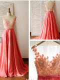 2017 Charming Prom Drsess Evening Dress Long Party Dress Sky685