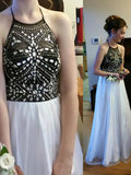 2017 Charming Prom Drsess Evening Dress Long Party Dress Sky686
