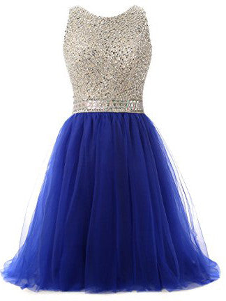 Charming Homecoming Dresses, Royal Blue Homecoming Dress Short/Mini Homecoming Dress