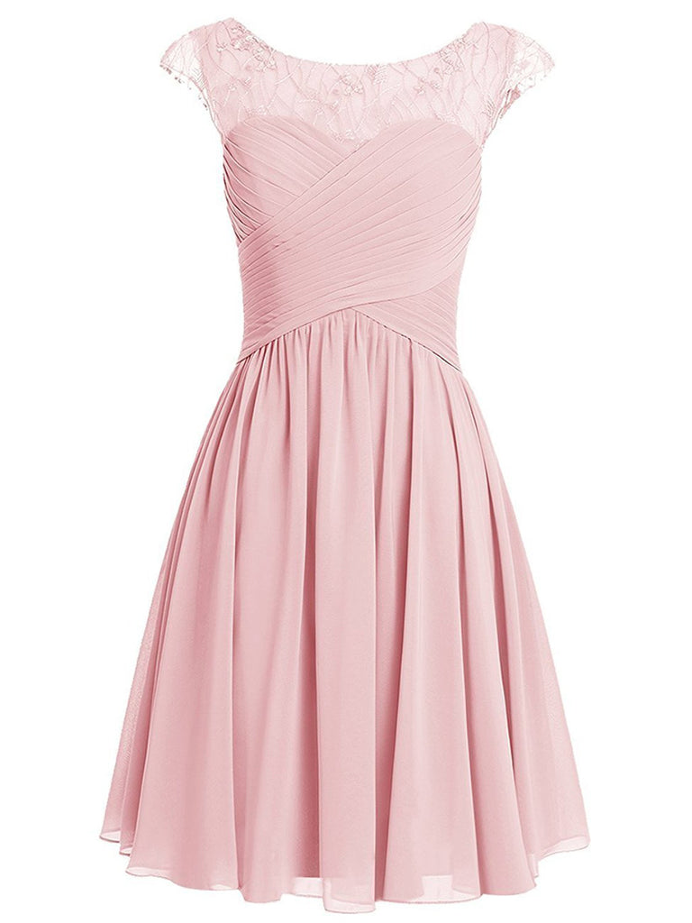 Pink Homecoming Dress,Cute Homecoming Dress,Short Prom Dress,Juniors Homecoming Dresses # kmy017