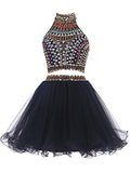Black Homecoming Dress,Cute Homecoming Dress,Short Prom Dress,Juniors Homecoming Dresses