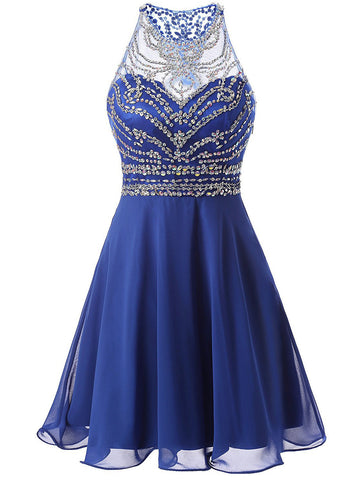 Royal Blue Homecoming Dress,Cute Homecoming Dress,Short Prom Dress,Juniors Homecoming Dresses