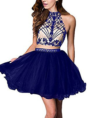 A-line Homecoming Dress Short/Mini Prom Drsess Juniors Homecoming Dresses kmy035