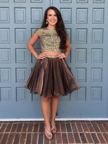A-line Homecoming Dress Short/Mini Prom Drsess Juniors Homecoming Dresses kmy079