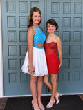 A-line Homecoming Dress Short/Mini Prom Drsess Juniors Homecoming Dresses kmy080
