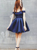 A-line Homecoming Dress Short Prom Drsess Homecoming Dresses kmy243