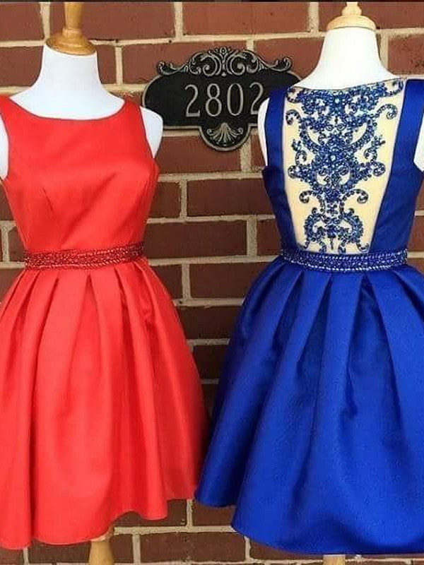 A-Line Homecoming Dress 2017 Short Prom Drsess Homecoming Dresses kmy314