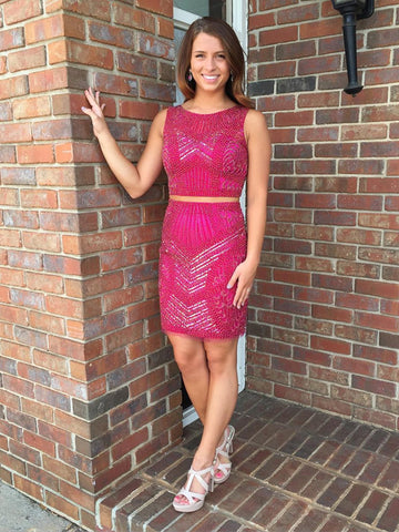 Sheath/Column Homecoming Dress Short Prom Drsess Homecoming Dresses kmy325