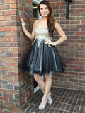 Sweetheart Homecoming Dress Short Prom Drsess Gold Homecoming Dresses kmy348