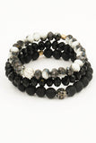 Bead Stretch layering Bracelet