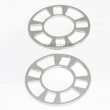 "4 Lug Wheel spacer 4x110 4x4.25 4x108 4x4.50 4x127 (0.25"" 6mm)"