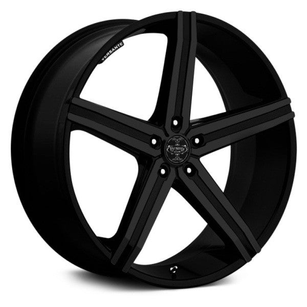 "18"" 20"" 22"" 24"" versante VE228 Wheels Matte Black"