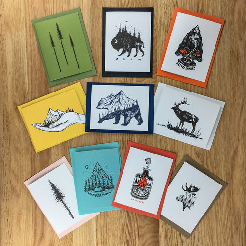 Greeting Cards - Variety Pack (All Designs)