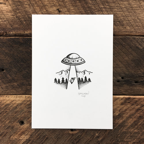 Abduction - Signed Print #41