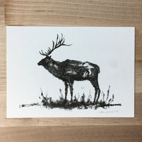 Abstract Elk - Signed Print #82
