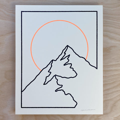 Flatirons  - Signed 7x5in Print #216
