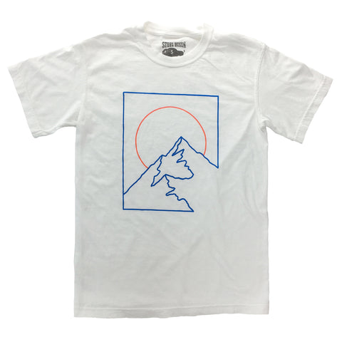 Roam Raglan Shirt (White/Blue)