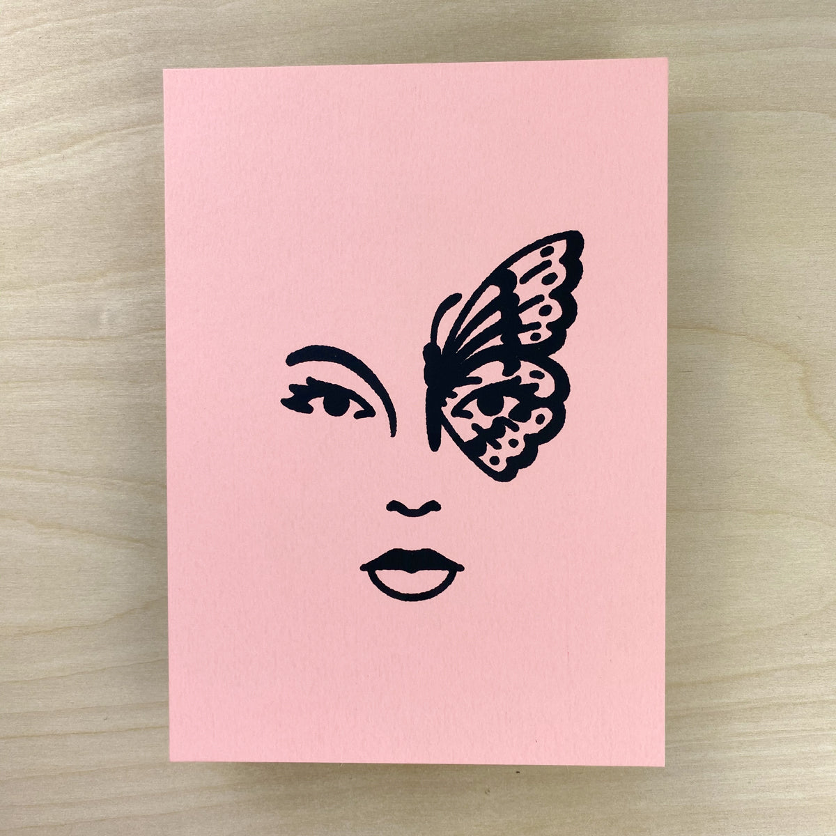 Butterfly Woman - Signed Print #194