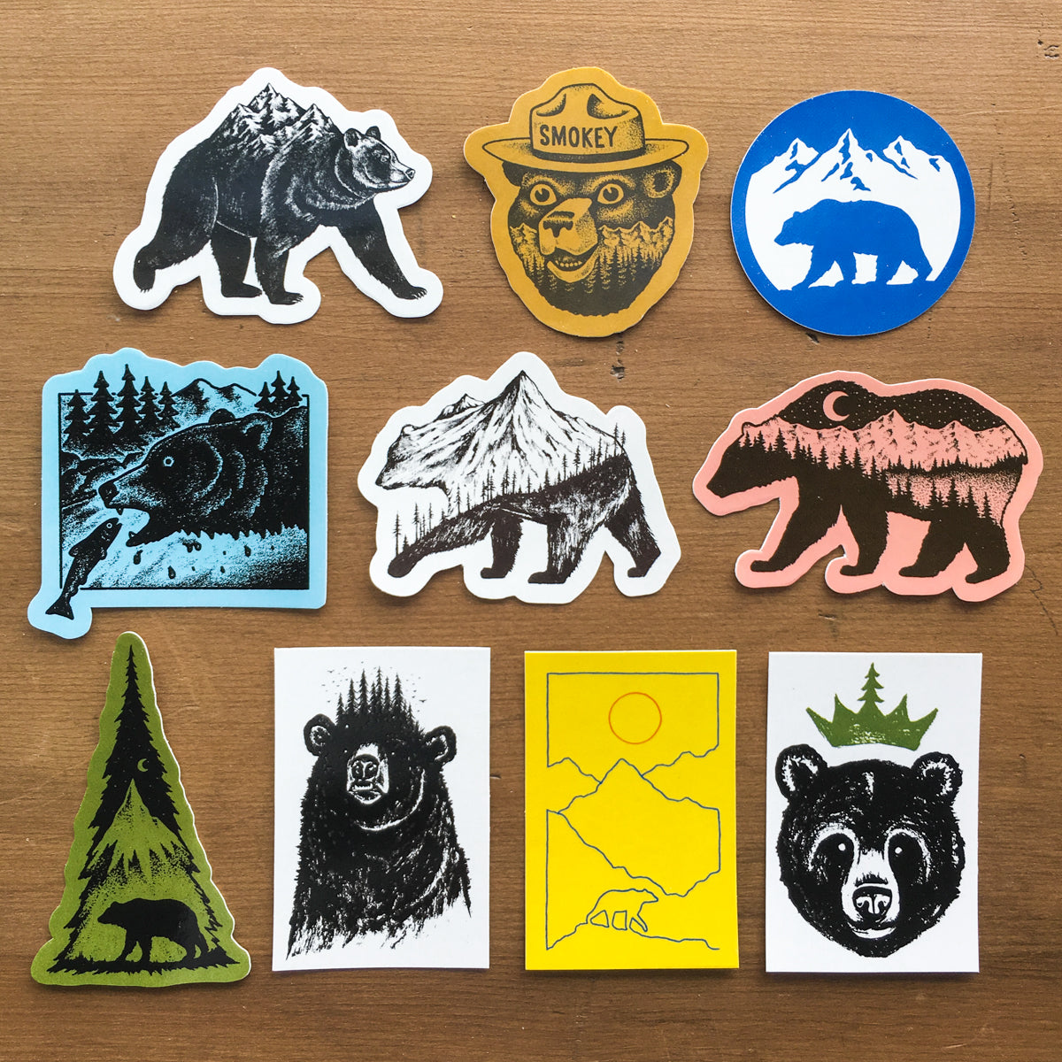 Bear Sticker Pack