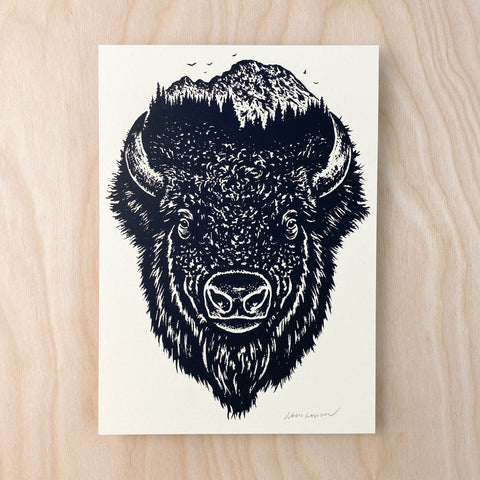 Colorado Big Horn - Signed 7x5in Print #223