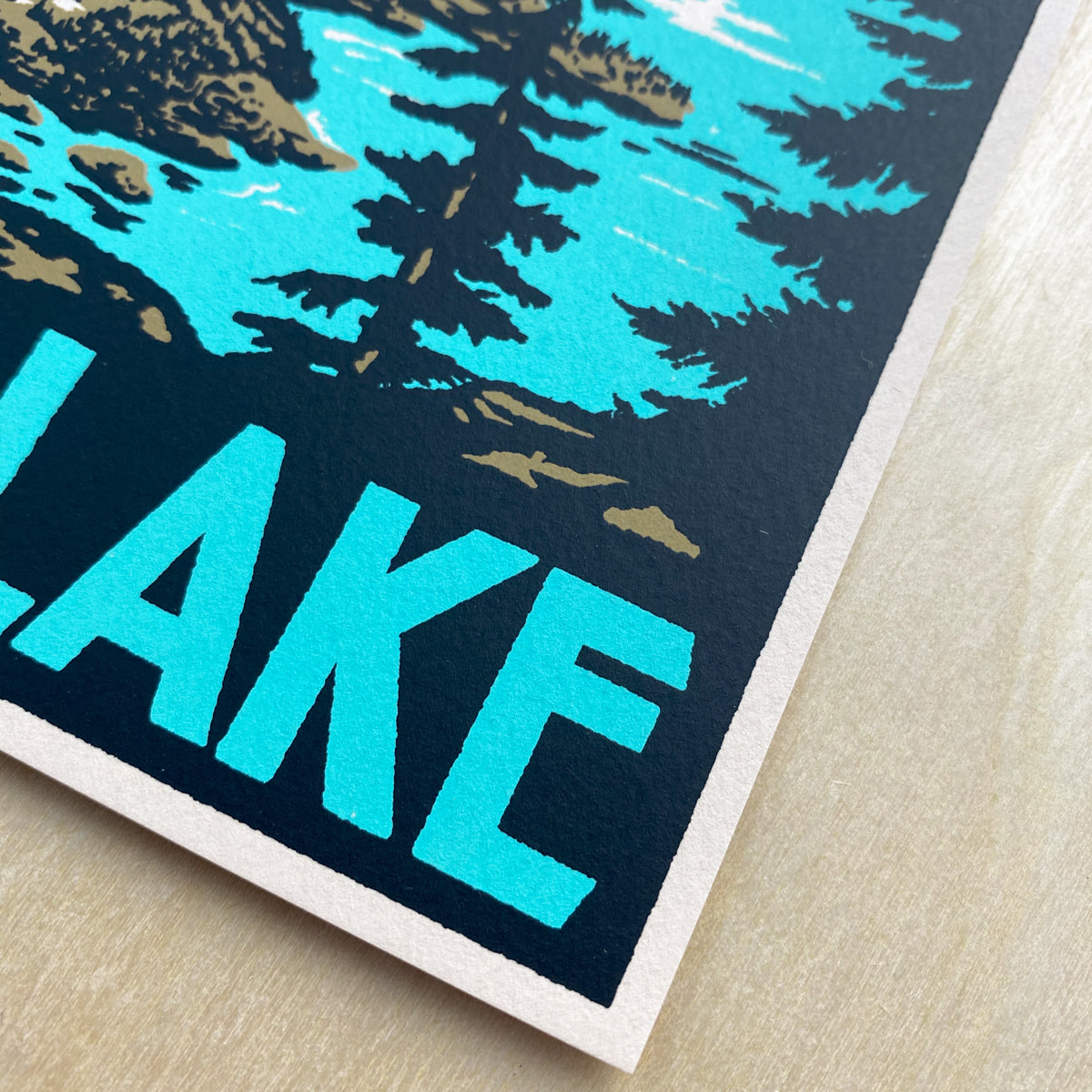 Crater Lake - Signed Print #186