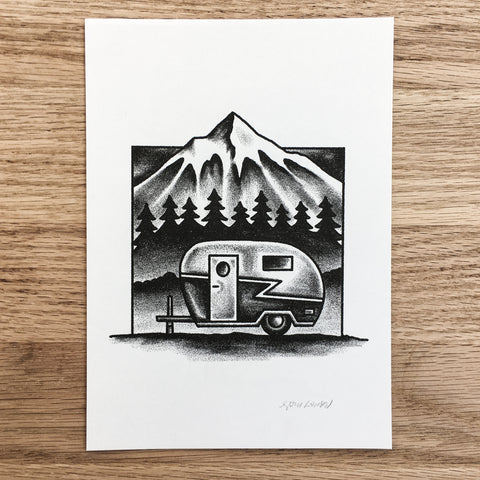 Camp Arrowhead- Signed Print #78