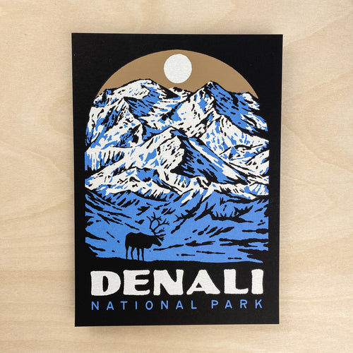 Denali - Signed 5x7in Print #229