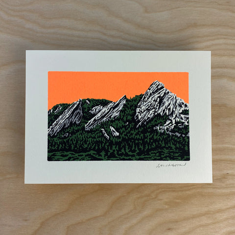 Grand Teton - Signed 5x7in Print #213