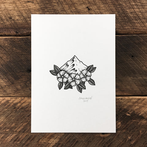 Heart Peak - Signed Print #71
