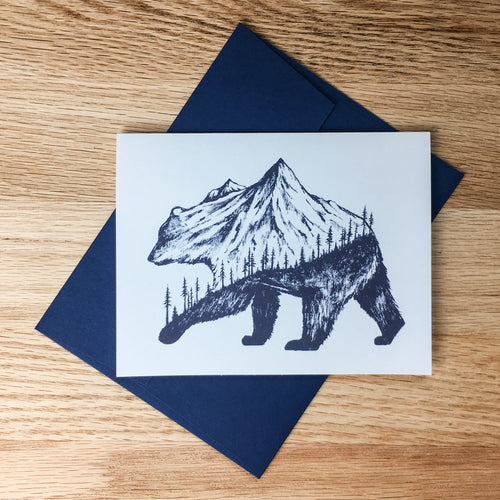 Greeting Cards - Grizzly Peak