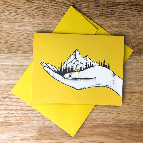 Greeting Cards - Hold On