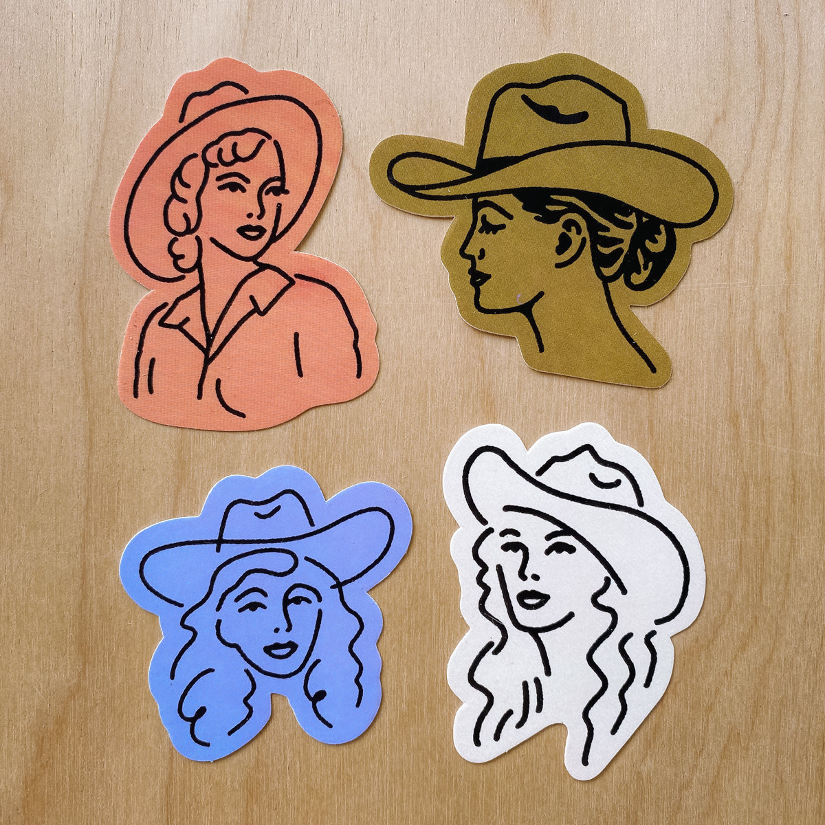 Cowgirl Sticker Pack