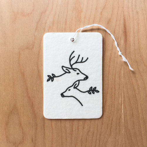 Together Deer Pine Air Freshener
