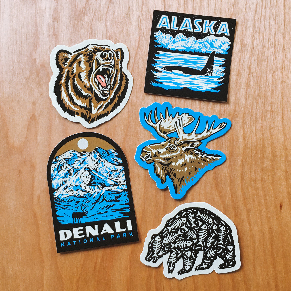 Alaska Sticker Pack