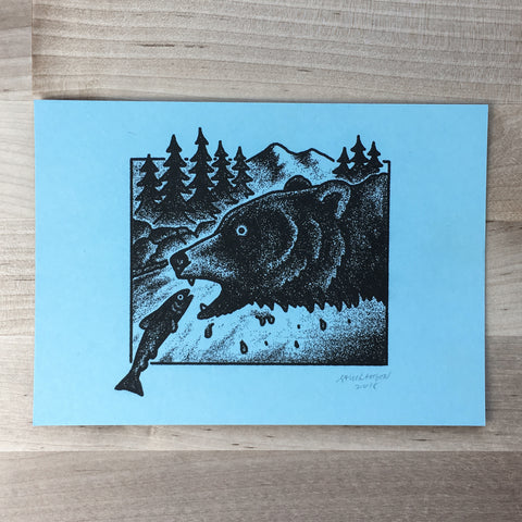 Mt. Hood Polaroids - Signed Print #67