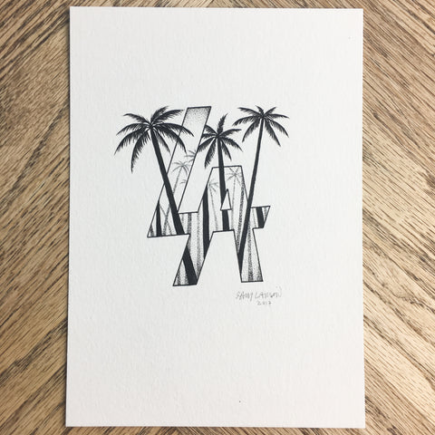 Arizona - Original Illustration 6x8in