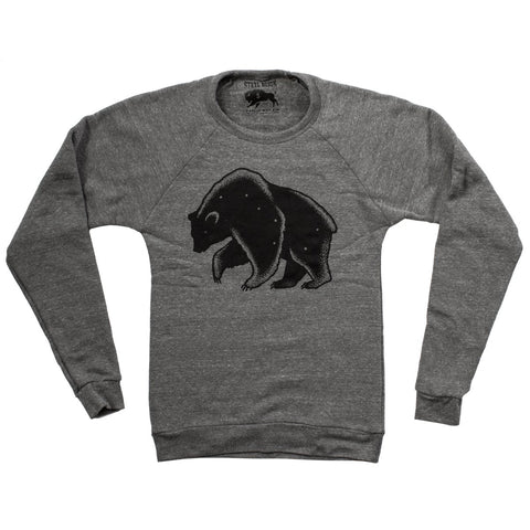 Bear Pines Long Sleeve Shirt (Heather Charcoal)