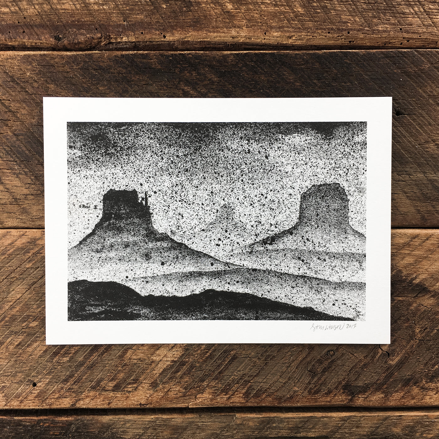 Monument Storm - Signed Print #56