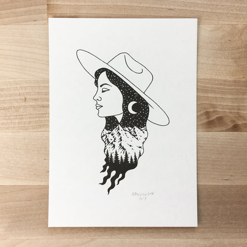 Nature Girl - Signed Print #79